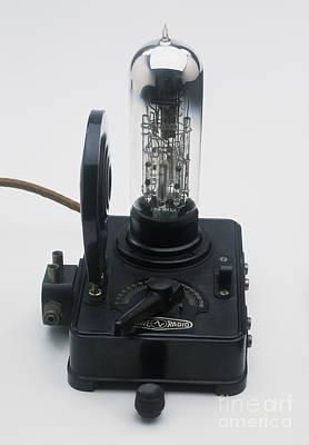 Vacuum Tube, Siegmund Loewe Print by Clive Streeter / Dorling Kindersley / Science Museum, London