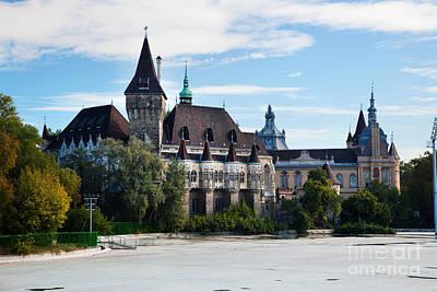 Castle Photograph - Vajdahunyad Castle. Budapest by Michal Bednarek