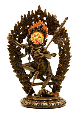 Cut Out Photograph - Vajrayogini by Fabrizio Troiani