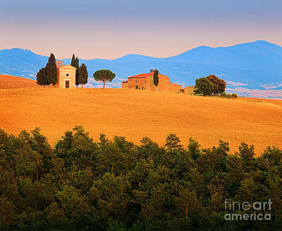 Italy Photograph - Val D'orcia Serenity by Inge Johnsson