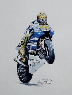 Valentino Rossi Original by Rod Verity