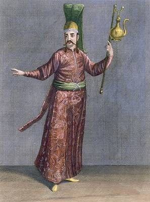 Orientalists Drawing - Valet To The Grand Seigneur, Topkapi by French School