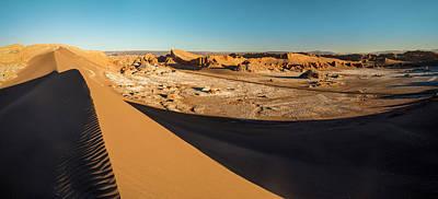 Valle De La Luna From Sans Dunes Print by Panoramic Images
