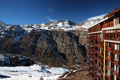 Valle Nevado Colors Print by John Rizzuto
