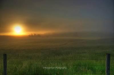 Valley Fog Original by Paul Herrmann