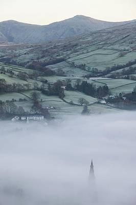 Inversion Photograph - Valley Mists by Ashley Cooper