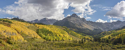 San Juan Mountain Range Photograph - Valley Of Autumn by Jon Glaser