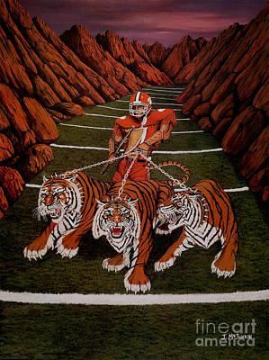 Deandre Painting - Valley Of Death by Jeff McJunkin