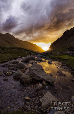 Snowdon Photograph - Valley Of Light by Ian Mitchell