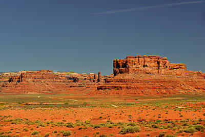 Solitude Photograph - Valley Of The Gods - See What The Gods See by Christine Till