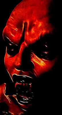 Nosferatu Digital Art - Vamp I by Devalyn Marshall
