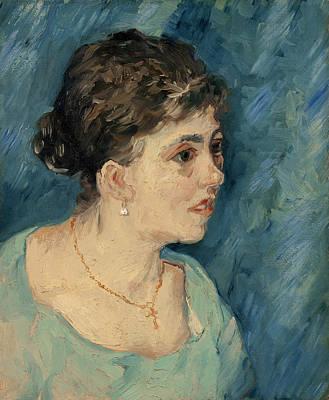 Blue Cross Painting - Van Gogh Prostitute, 1885 by Granger
