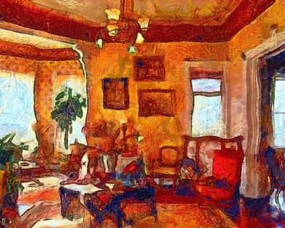 Manipulation Photograph - Van Gogh's Guest Chamber by Mario Carini