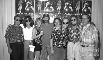 Concert Photograph - Van Halen-meet N Greet-07 by Timothy Bischoff