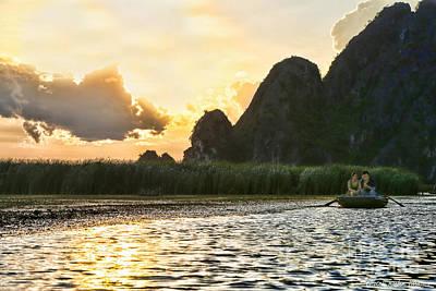 Binh Photograph - Van Long Vietnam by Chuck Kuhn