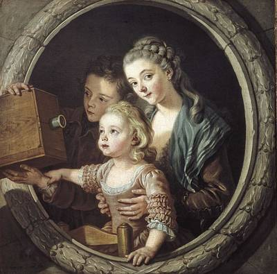Van Loo, Charles Amedee Philippe Print by Everett