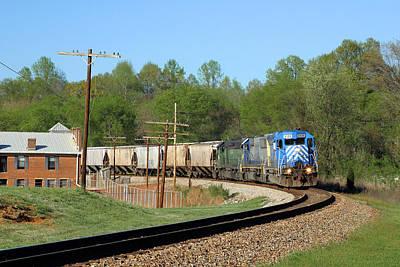 Van Wyck Grain Train Print by Joseph C Hinson Photography