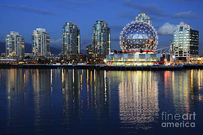 Vancouver British Columbia 3 Print by Bob Christopher