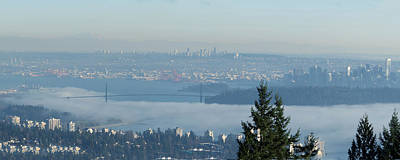 Photograph - Vancouver Fog Bank by R J Ruppenthal