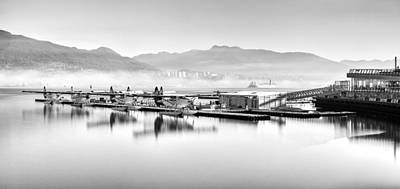 Float Plane Photograph - Vancouver Mist by Alexis Birkill