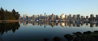 Vancouver Reflected Print by Dan Breckwoldt