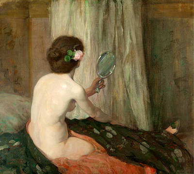 Bessie Macnicol Painting - Vanity by Bessie MacNicol