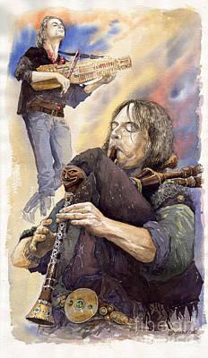 Scottish Painting - Varius Coloribus 1 by Yuriy  Shevchuk
