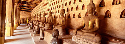 Laos Photograph - Vat Si Saket, Vientiane, Laos by Panoramic Images