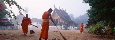 Laos Photograph - Vat Xieng Thong, Luang Prabang, Laos by Panoramic Images