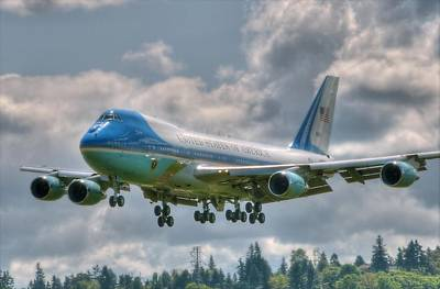 Potus Photograph - Vc25 - Air Force One  by Jeff Cook