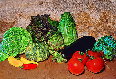 Decor Photograph - Vegetables by Marcia Colelli