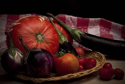 Vegetables Print by Riccardo Livorni