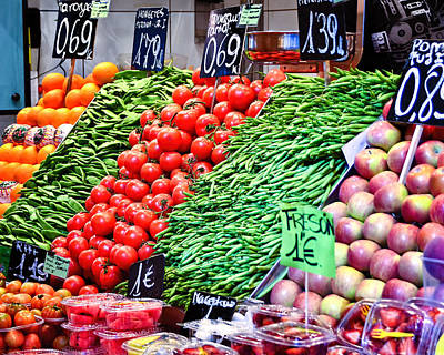 Veggies Anyone Print by Jon Berghoff