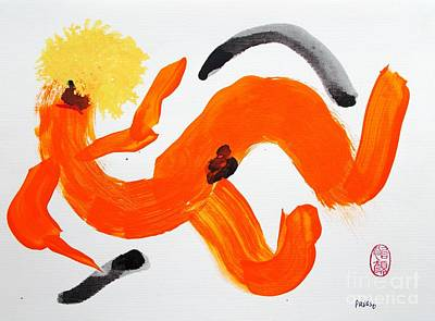 Make Believe Painting - Vel Veeta Cheese Likes To Spread Herself Around by Roberto Prusso