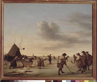 1636 Photograph - Velde, Adriaen Van De 1636-1672 by Everett
