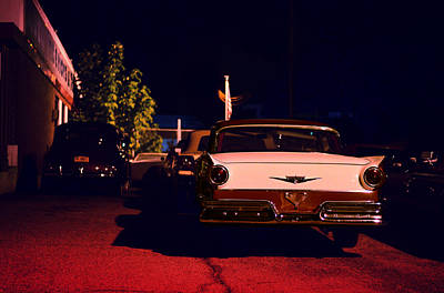 Ford Fairlane Photograph - Velvet Underground by Laura Fasulo