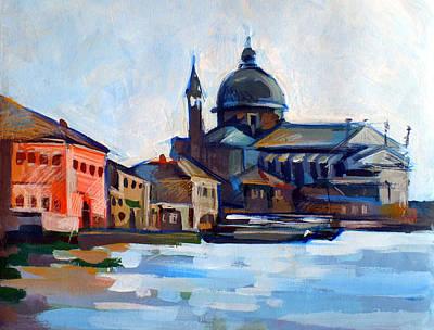 Venetian Shoreline Print by Filip Mihail