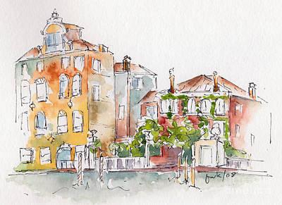 Venezia Grand Canal Print by Pat Katz