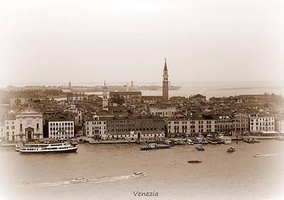 Church Photograph - Venezia by Bishopston Fine Art