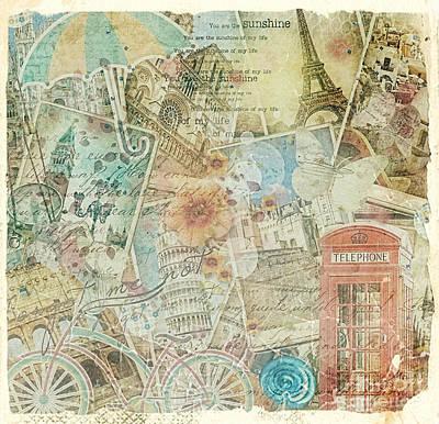 Travelling Art Digital Art - Veni Vidi Vici by Mo T