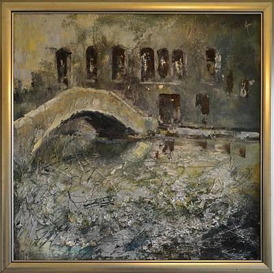 Quadri Painting - Venice 1 By Mihaela Ghit by Mihaela Ghit