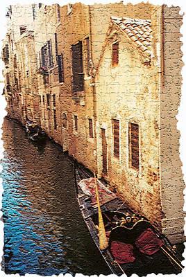 Gondola Photograph - Venice 9 by Rebecca Cozart