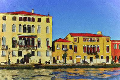 Venice Architecture 5 Print by Yury Malkov