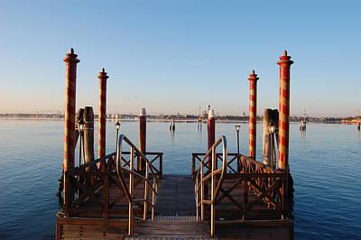 Shakira Photograph - Venice  by C Lythgo