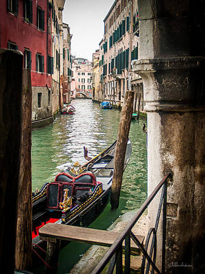Venice Canal Original by Sheldon Anderson