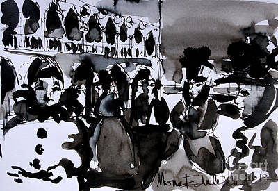 Venice Carnival 3 Print by Mona Edulesco