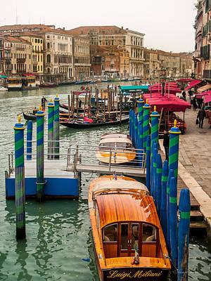 Venice Grand Canal Original by Sheldon Anderson
