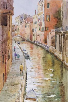 Venice In October Print by Andrii Gerasymiuk