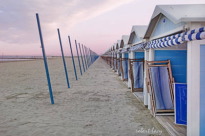Photograph - Venice Lido by Robert Lacy