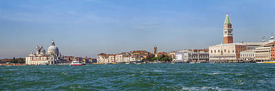 Watch Tower Photograph - Venice Panoramic by Melanie Viola